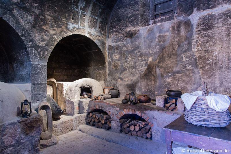 Küche im Kloster Santa Catalina in Arequipa