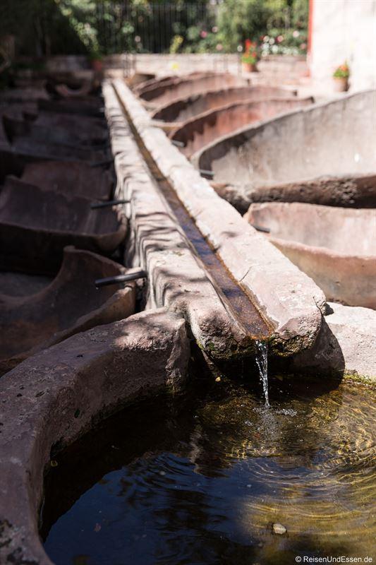 Brunnen im Kloster Santa Catalina in Arequipa