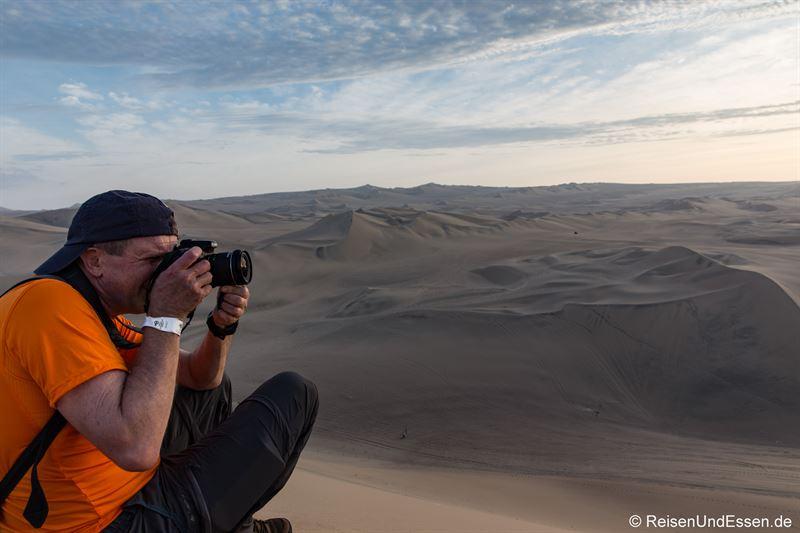 Auf Fototour in den Sanddünen von Huacachina