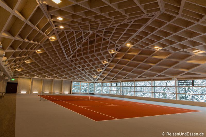Tennisplatz im Dome