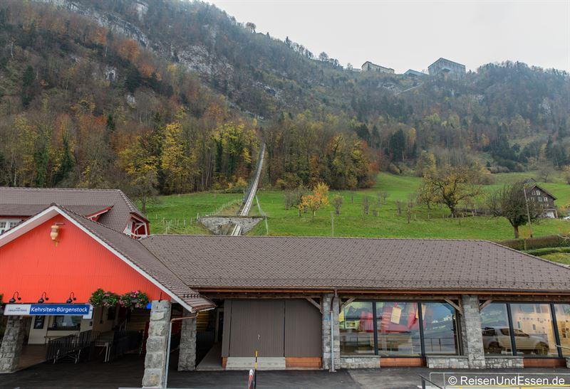Anlegestelle Bürgenstock am Vierwaldstätter See