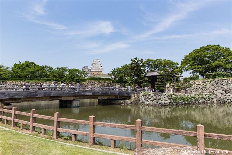 Auf dem Weg zur Burg Himeji