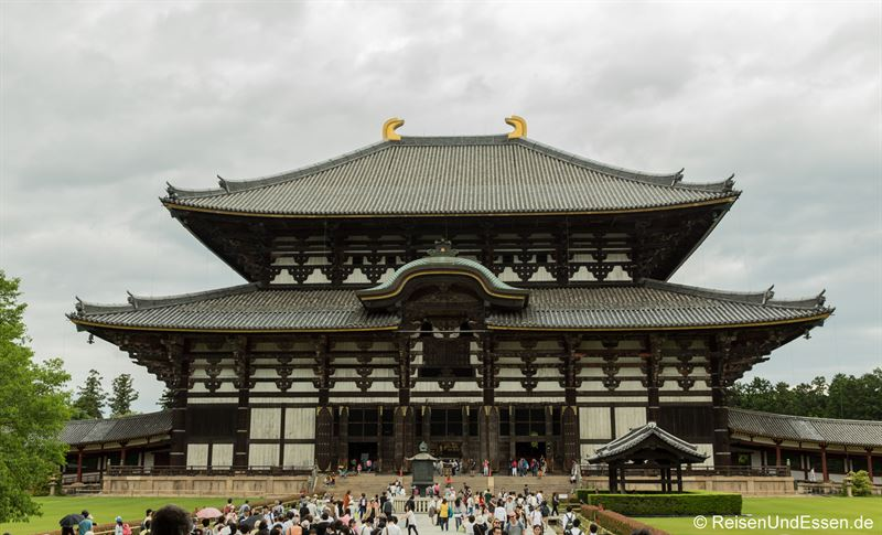 Tempel Todai-ji in Nara