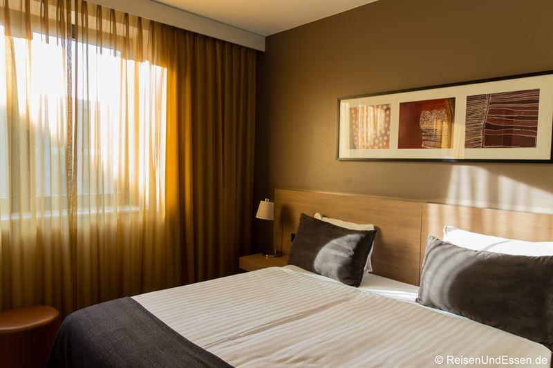 Schlafzimmer im Adina Apartment Hotel Berlin Mitte