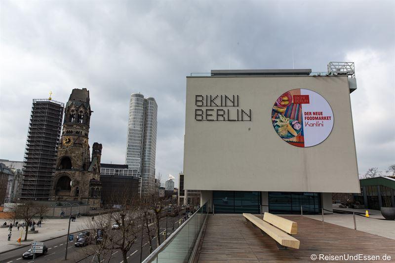 Bikini Berlin und Gedächtniskirche