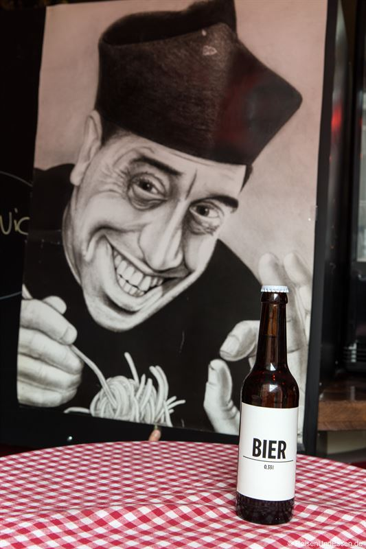 Don Camillo in der Pizza Peppino in Berlin