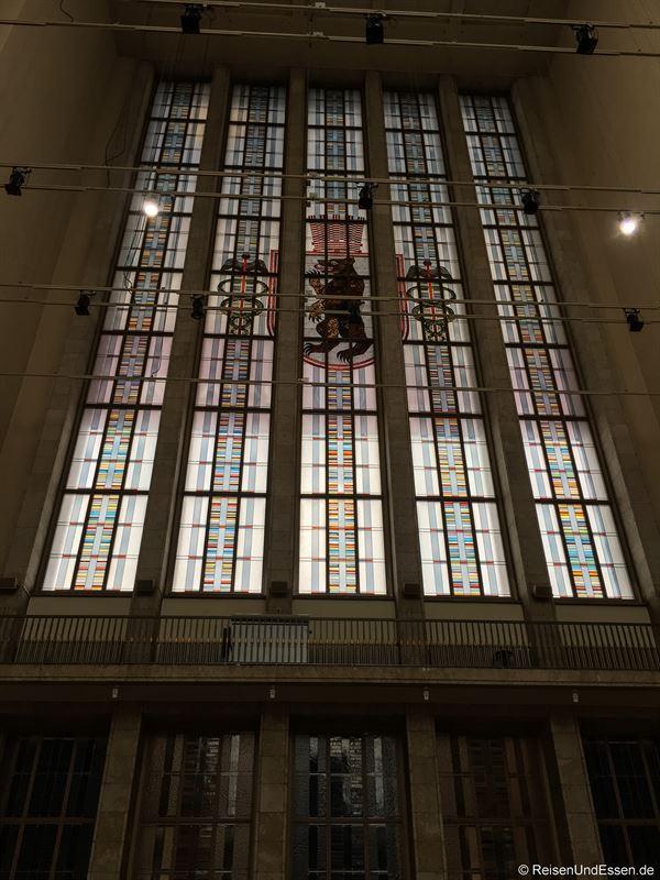Palais am Funkturm beim Eingang Messe Nord in Berlin