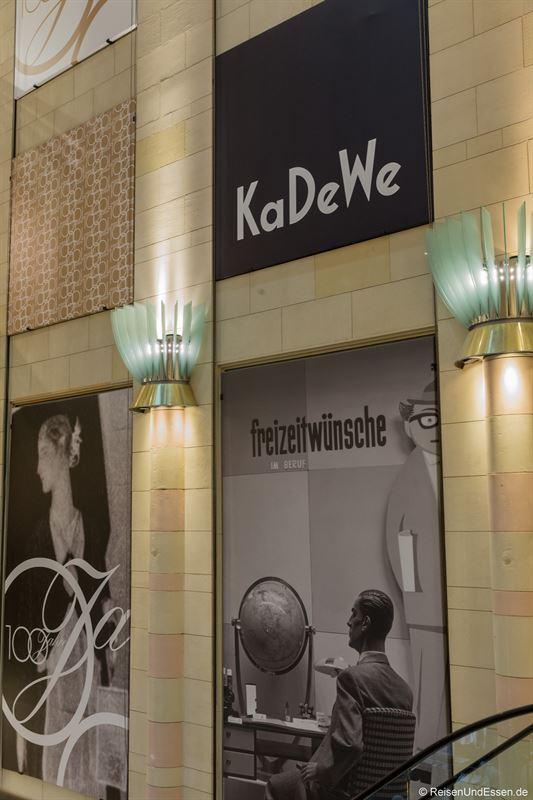 KaDeWe in Berlin