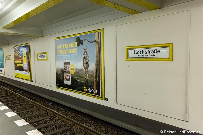 U-Bahnstation Kochstraße in Berlin