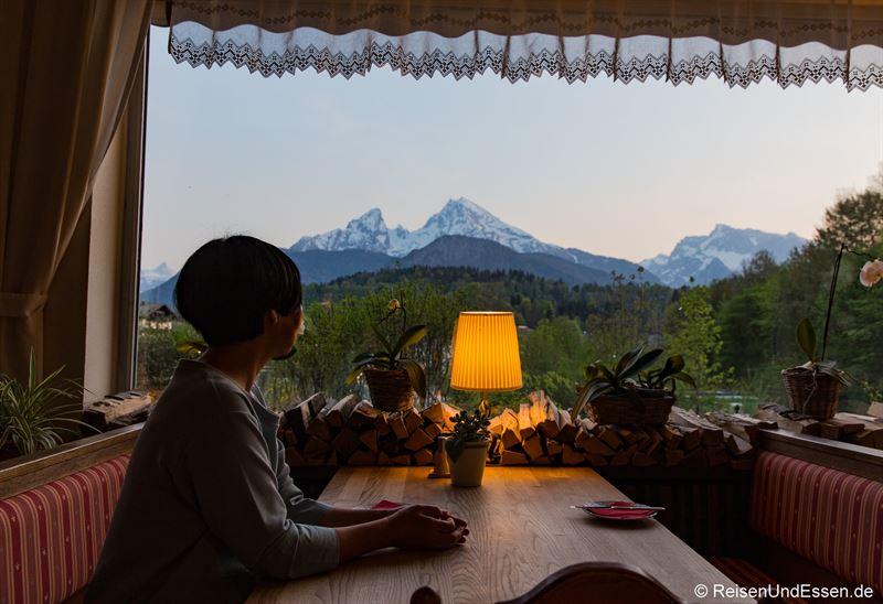 Restaurant im Hotel Bavaria in Berchtesgaden