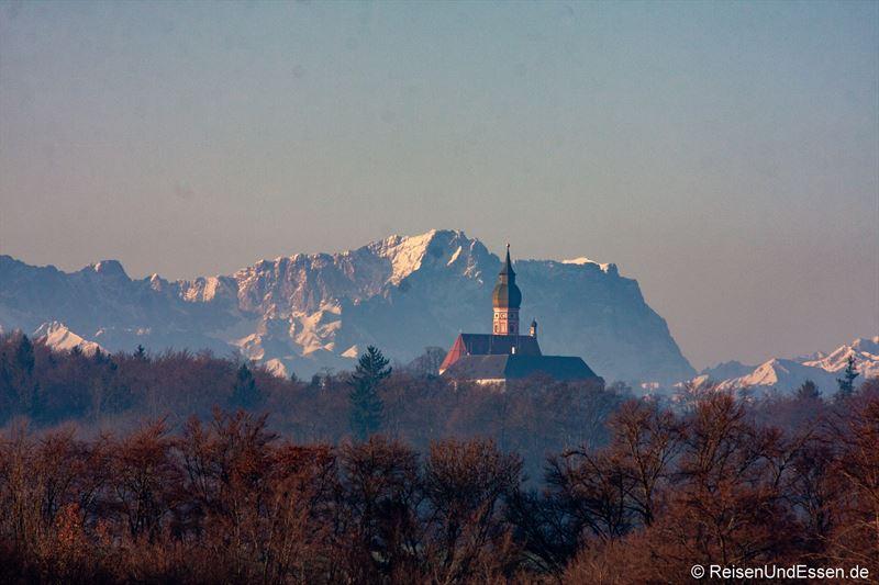 Kloster Andechs und Zugspritze