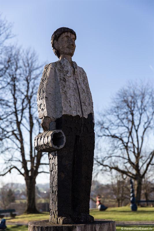 Skulpturen im Klostergarten