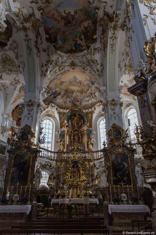 Altar in der Kloster- und Wallfahrtskirche Andechs