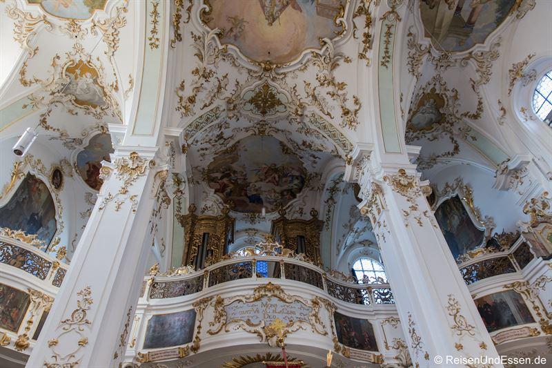 Orgel in der Kloster- und Wallfahrtskirche Andechs