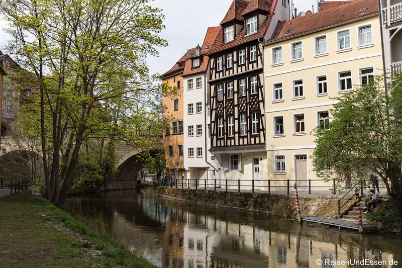 Anlegestelle am Ludwig-Donau-Main-Kanal in Bamberg