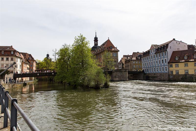 Zusammenfluss von Ludwig-Donau-Main-Kanal und linker Regnitzarm