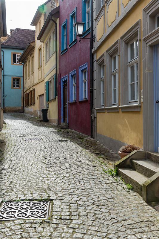 Häuser in der Schimmelsgasse in Bamberg
