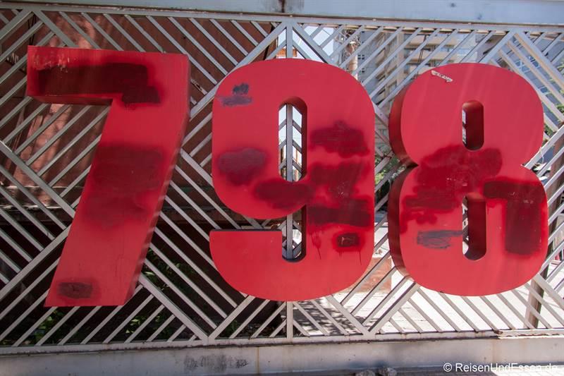 Eingang zur 798 Art Zone in Beijing