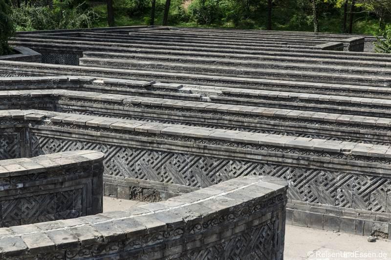 Labyrinth im alten Sommerpalast in Beijing