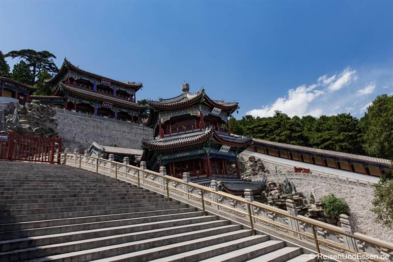 Tempel in den Duftbergen bei Peking