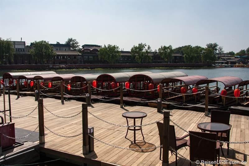 Houhai-See in Peking