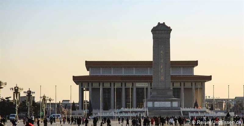 Mao Mausoleum auf dem Platz des himmlischen Frieden