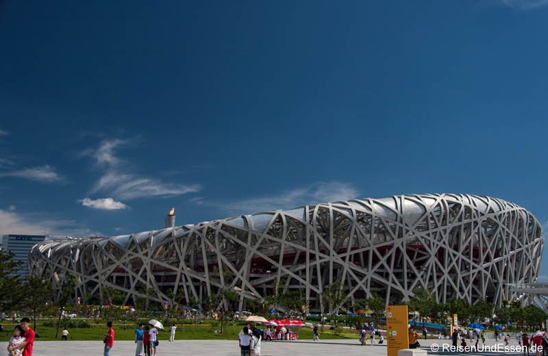 Olympiastadion in Peking