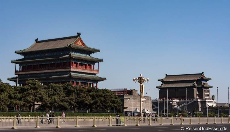Qianmen-Tor beim Platz des himmlischen Friedens