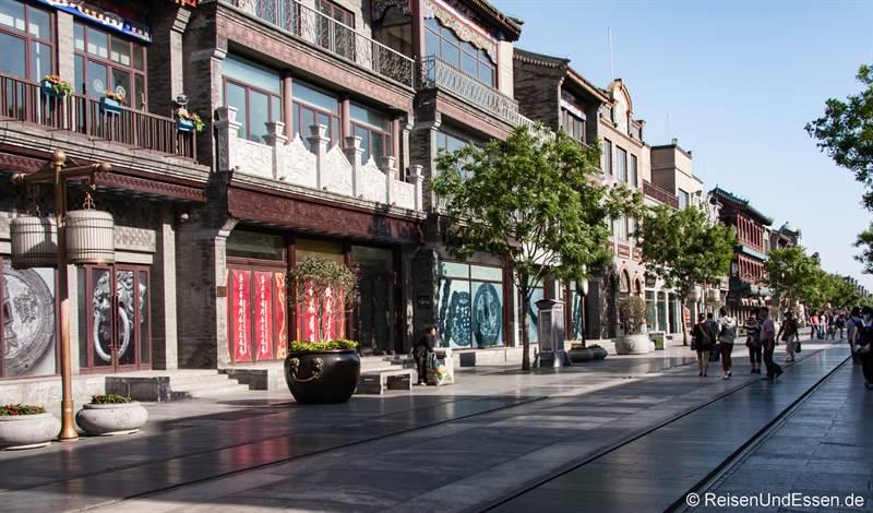Qianmen Strasse in Peking