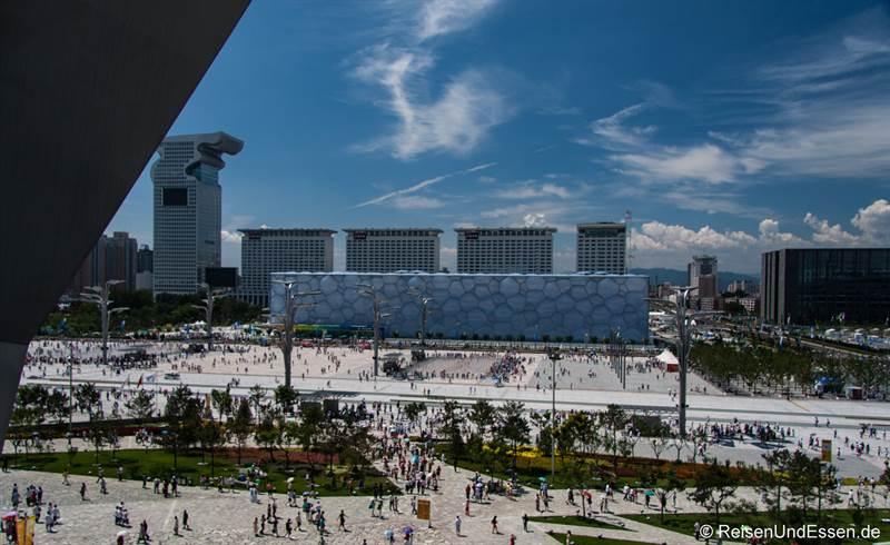 Olympische Schwimmhalle in Peking