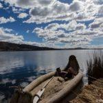 Übernachtung auf den schwimmenden Inseln der Uros im Titicacasee