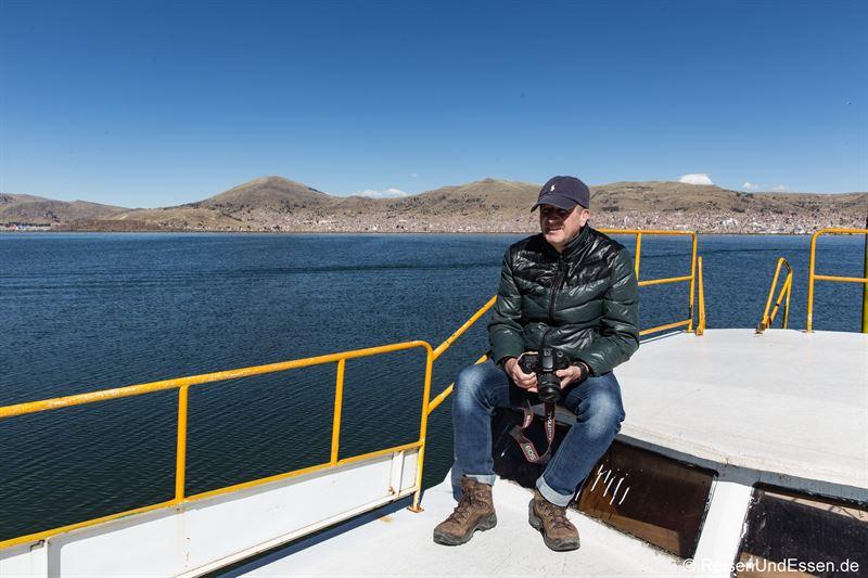 Überfahrt zu den schwimmenden Inseln der Uros