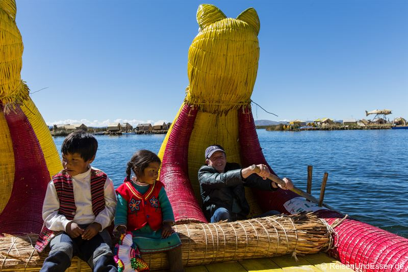 Rudern auf dem Titicacasee