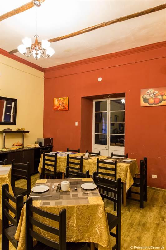 Frühstücksraum im Colonial Plaza Hotel in Puno