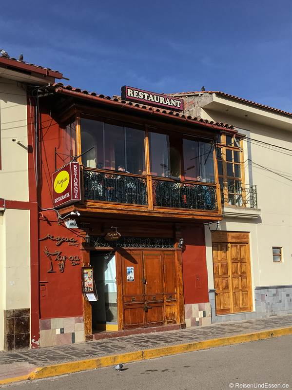 Moysa Restaurant in Puno am Titicacasee