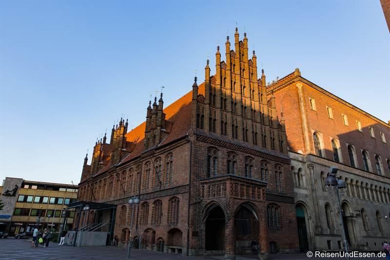 Altes Rathaus in Hannover - Station 31 beim Roten Faden