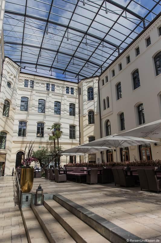 Innenhof vom Ernst-August-Carree in Hannover