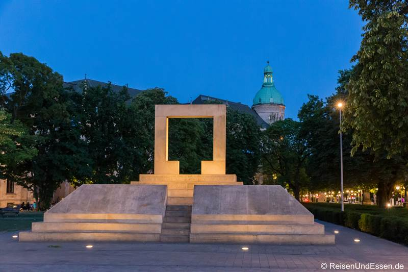 Mahnmal zum Holocaust in Hannover
