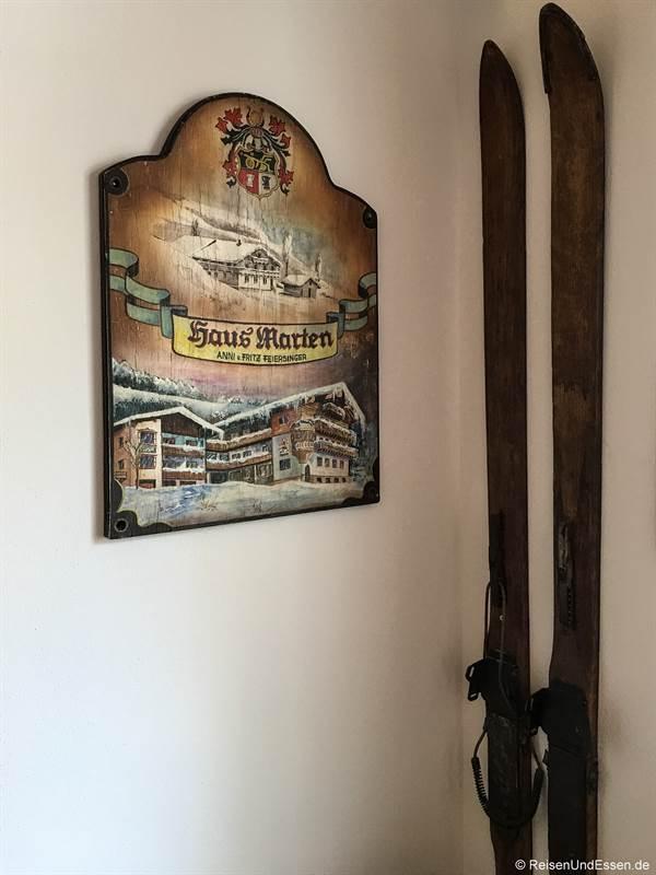 Eingangsbereich Hotel Marten in Hinterglemm
