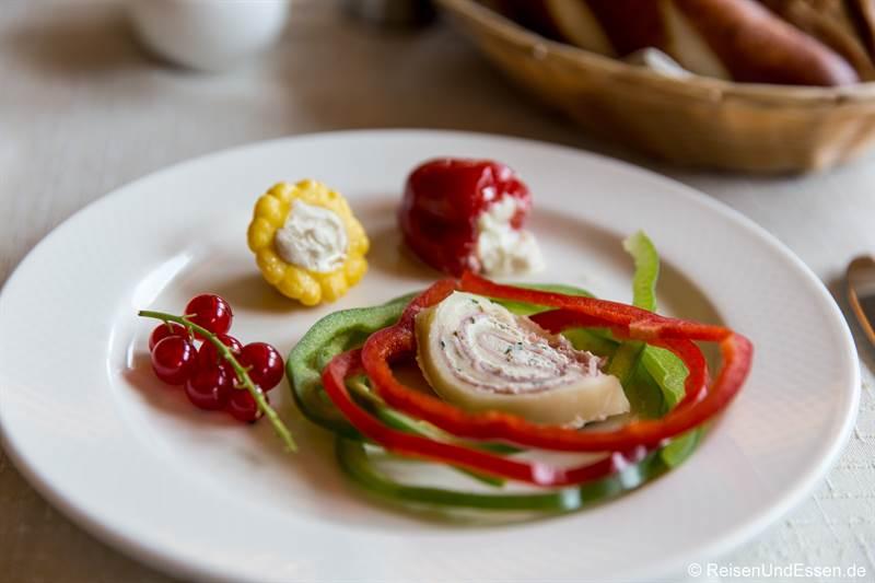 Frühstück im Hotel Marten