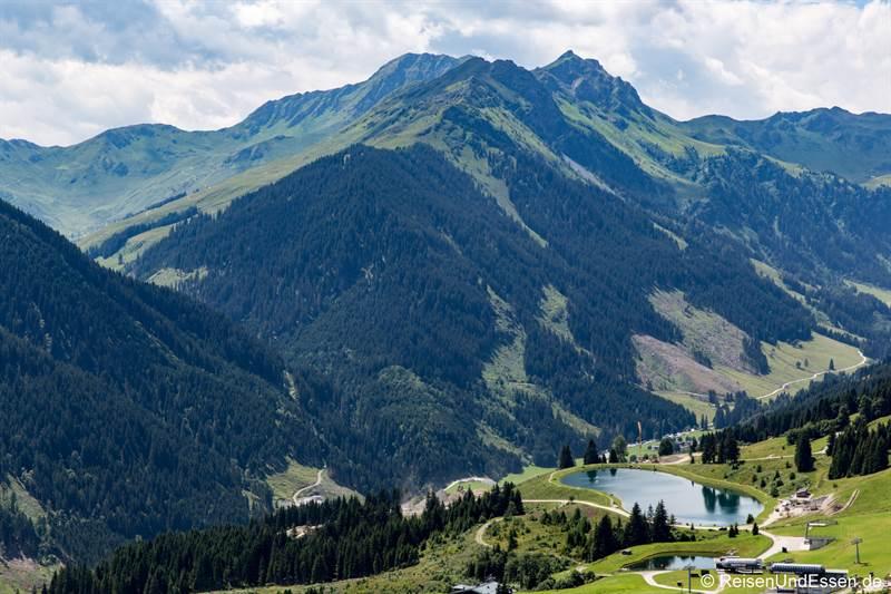 Kleiner See oberhalb von Hinterglemm