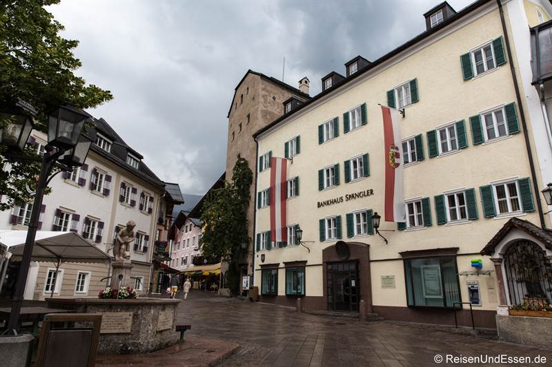 Stadtplatz in Zell am See