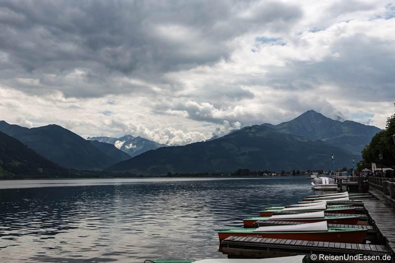 Blick auf Zeller See