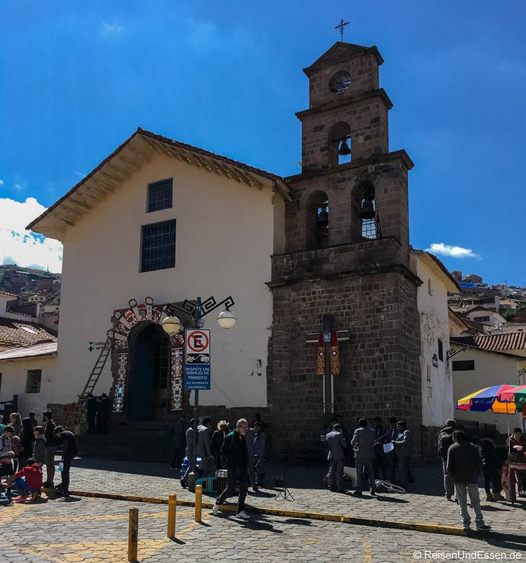Kirche in San Blas in Cusco