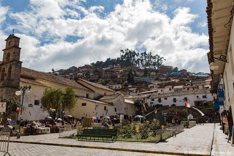 Plaza San Blas und Kirche - Sehenswürdigkeiten in Cusco