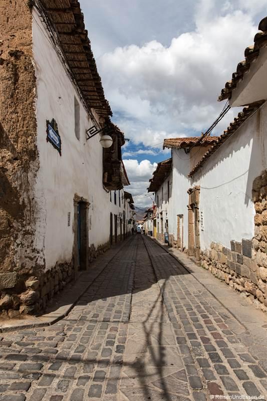 Strasse in San Blas in Cusco