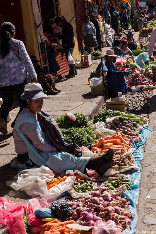Strasse am Markt in San Pedro