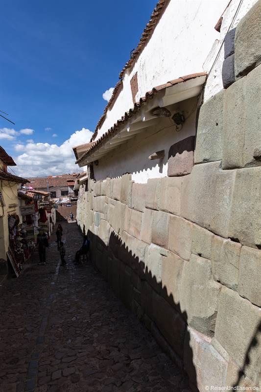 Strasse der Inka in Cusco