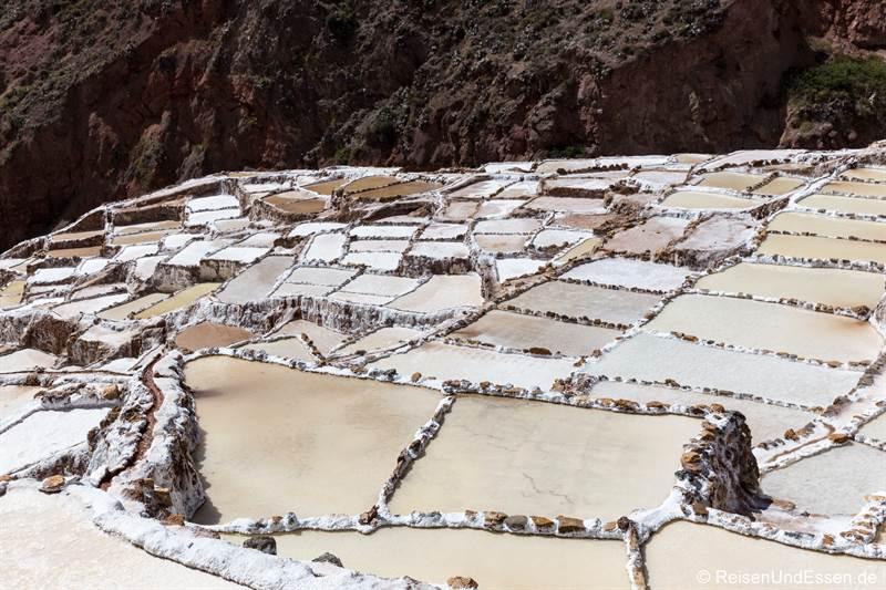 Salzterrassen von Maras in Peru