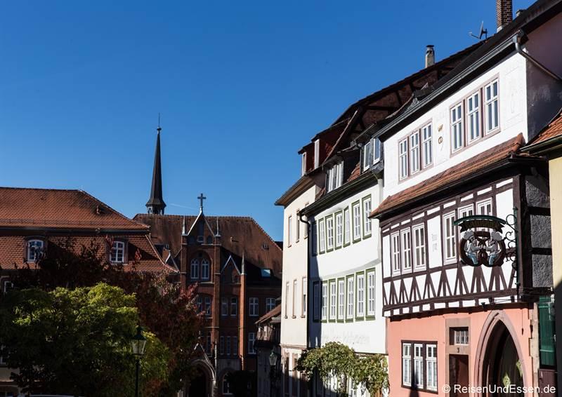 Severiberg in der Altstadt von Fulda